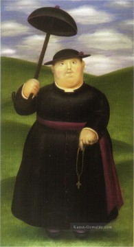 Walk in the Hills Fernando Botero Ölgemälde